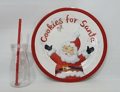 POTTERY BARN KIDS Cookies For Santa Christmas Set/Kit, NEW