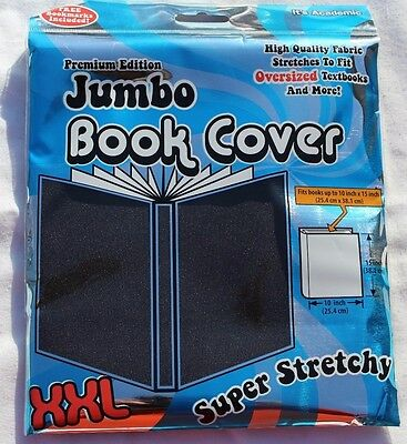 New In Package, Premium Edition Jumbo Book Cover Black, Free Shipping