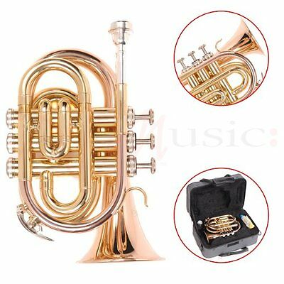 Odyssey Bb Pocket Trumpet Outfit with Case