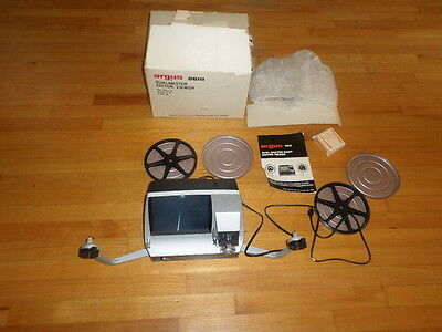 Vintage Argus 2810 Dual Master Editor Viewer Eight Movie 8mm  Super 8 With Box