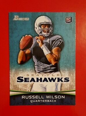 Russell Wilson RC 2012 Bowman Football