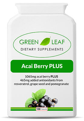 Acai Berry Extract Weight Loss Detox Antioxidant Health Slimming Diet Fat Burner