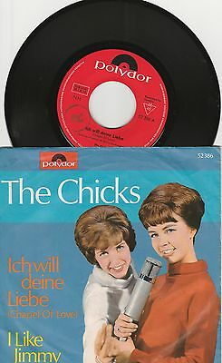 "7"" THE CHICKS Ich will deine Liebe Coverversion Chapel of love"