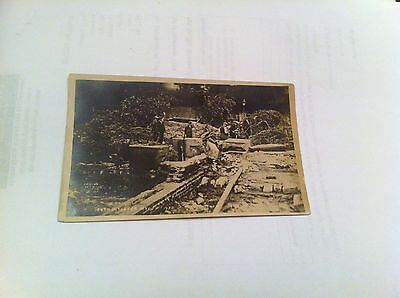 Old Postcard Photo Of Louth Flood Disaster In 1920