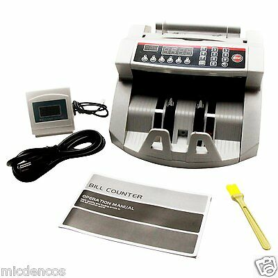 Professional Money Bills Bank Note Counter,(Magnetic) Counterfeit Bill Detection