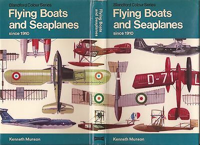 Blandford Colour Series Flying Boats & Seaplanes Since 1910 First Edition.