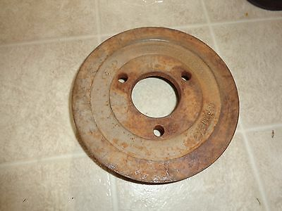 Ford Mustang Truck Crank Pulley 352 360 390 428 2 Groove D4Te-6A312 Aa