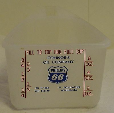 Connors Phillips 66 Oil Co. St. Bonnie MN Measure Cup