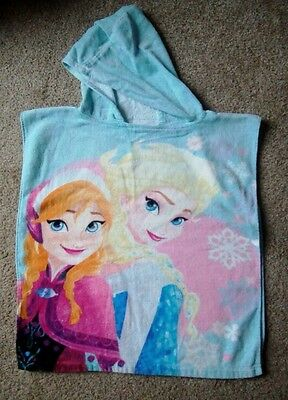 Frozen Hooded Towel Poncho - One Size
