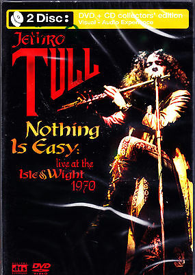JETHRO TULL nothing is easy live at the isle &wight 1970 DVD + CD NEU OVP/Sealed