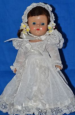 Vintage Vogue Ginny Doll PL SLW in Tagged Wedding Dress