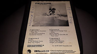 8 TRACK CLIFF RICHARD I'm nearly famous