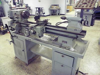 "12"" x 35"" ATLAS-CLAUSING Variable Speed Lathe Model 5449"
