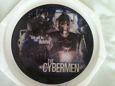 Doctor Who Limited Edition Collectors Plate - New Era Cybermen