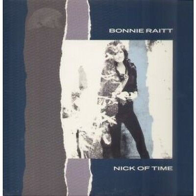 "BONNIE RAITT Nick Of Time 12"" VINYL 3 Track B/w Road's My Middle Name And I"