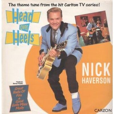 "NICK HAVERSON Head Over Heels 12"" VINYL 4 Track Also Featuring Jerry Lee Lewis"