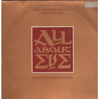 """ALL ABOUT EVE What Kind Of Fool 12"""" VINYL 3 Track Limited Edition Numbered Box"""