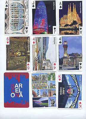 Lote 4 Barajas Poker, Playing Cards Deck,de Barcelona, Madrid,andalucia,canarias
