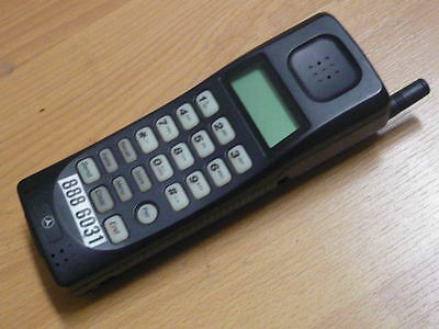 Old School Mercedes Benz CELLULAR CELL PHONE Vintage Collection RARE !