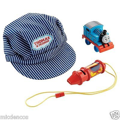 My First Thomas the Train & Friends Conductor Set w/Train,Whistle & Hat, Ages 3+