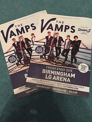 The Vamps Tour Flyer