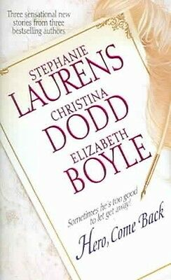 Hero, Come Back by Stephanie Laurens Mass Market Paperback Book (English)