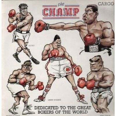 """CHAMP S/T 12"""" VINYL 2 Track With Inner B/W Instrumental But Pic Sleeve Is Worn"""