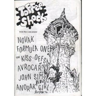 TOFFEE SHOCK Issue Five FANZINE Black And White A5 Indie Fanzine. Includes