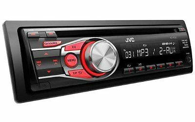 JVC KD-R331 CD MP3 AUX In Car Stereo Radio Head unit Front Aux for iPod/iPhone