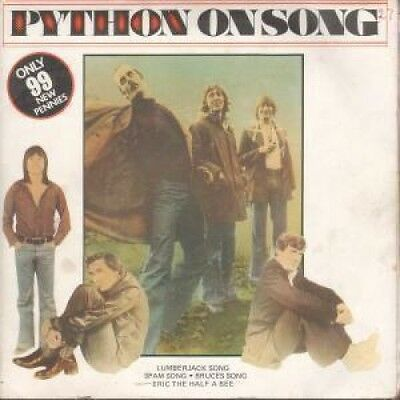 """MONTY PYTHON Python On Song DOUBLE 7"""" VINYL 4 Track Limited Double Pack"""