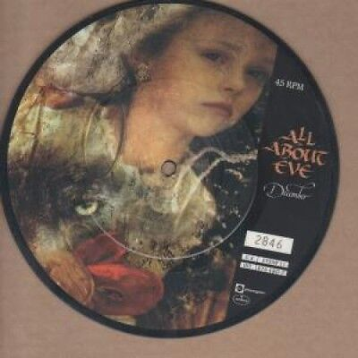 "ALL ABOUT EVE December 7"" VINYL 3 Track Limited Numbered Pic Disc B/W Drowning"
