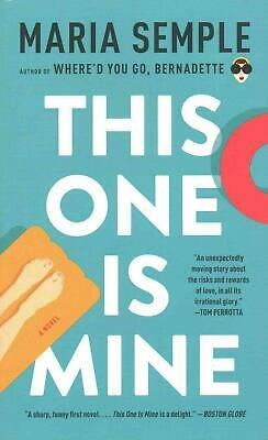 This One Is Mine by Maria Semple (English) Mass Market Paperback Book Free Shipp
