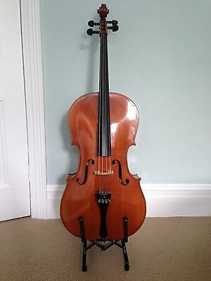 3/4 Size Cello, Bow and quality Soft Case in good condition.