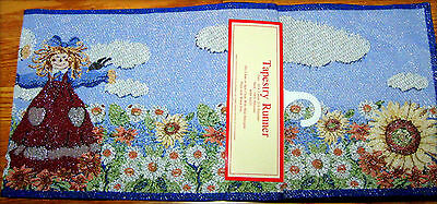 Scarecrow Tapestry Runner  **new**