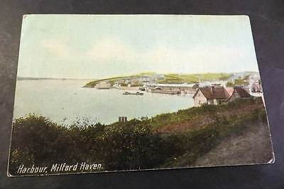 MILFORD HAVEN c1910 The Harbour