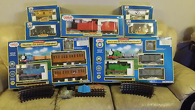 Bachmann G Scale DeluxeThomas the Tank Engine, James, Percy & Freight collection