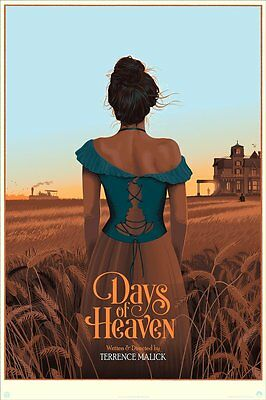 MONDO SOLD OUT! Terrence Malick DAYS of HEAVEN - Laurent Durieux Variant 38/175
