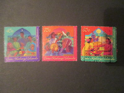 No-30-1996   COCOS   ISLAND   ISSUED --  STAMPS  -  F/S  -GREAT  LOT