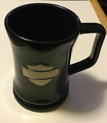 Harley Davidson Extra Large Bar & Shield Ceramic Pedastal Mug