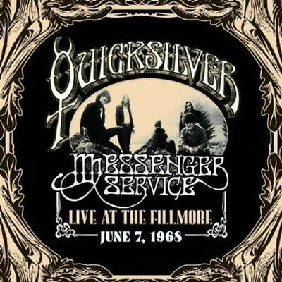 Quicksilver Messenge - Live at the Fillmore June 7, 1968 [New CD]