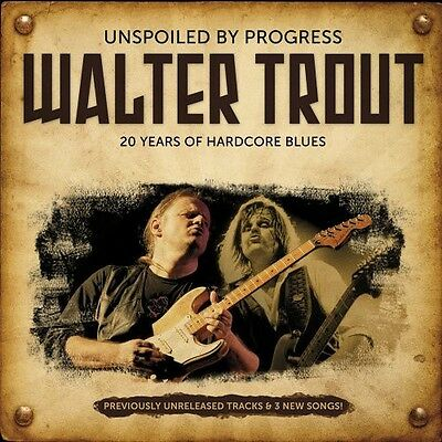 Walter Trout - Unspoiled Progress [New CD]