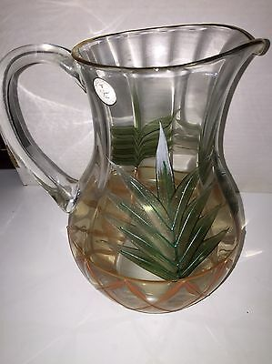 Romania Hand Crafted Crystal Pitcher