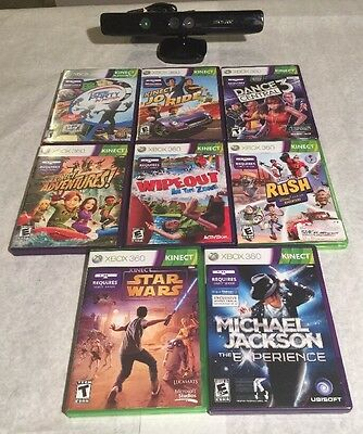 Xbox 360 Kinect , +8 Games.