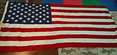 50 Star Casket Flag Valley Forge Co 100% cotton 5 x 9 & 1/2 US American Made