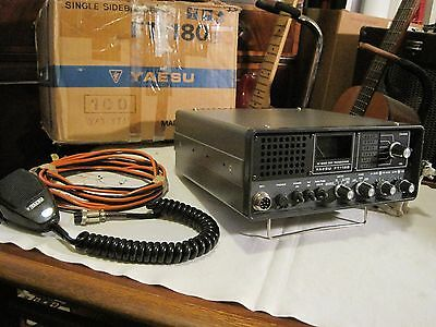 Yaesu FT - 180 HF - SSB - Solid State Transceiver -  New Old Stock