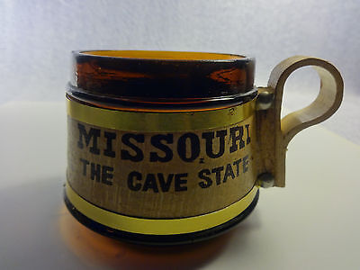 "Vintage Travel Memorabilia Coffee Mug ""Missouri The Cave State"" Graphic Cup"