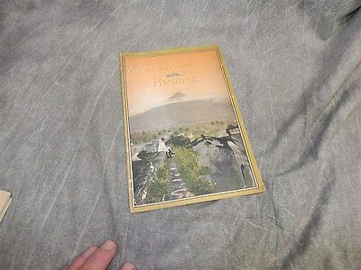 c 1911 Central America and Panama Louisville & Nashville R R Brochure 26 + pages
