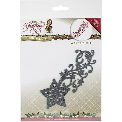 Find It Trading Amy Design Christmas Greetings Die - Shooting Star