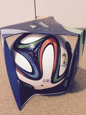 Adidas Brazuca brazil official match soccer ball Fifa World Cup 2014 Size 5