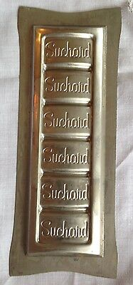 Antique Chocolate Mold Candy Mold Candy Bar Mold Chocolate Flat SUCHARD